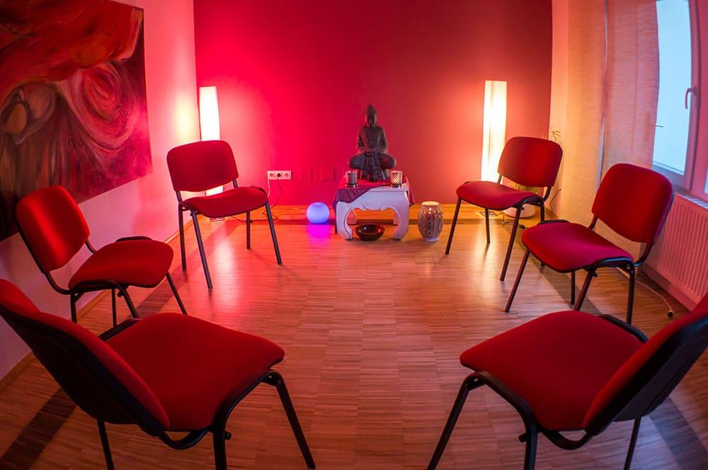 Raum Gruppentherapie Heilpraktikerin Andela Canzler-Hiegemann
